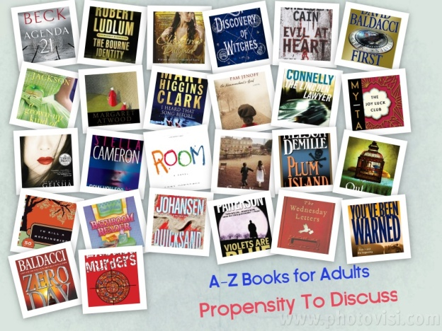 A-Z Titles for Adults a Propensity to Discuss post