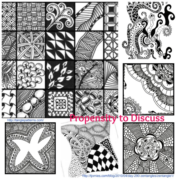 Untangling your mind with Zentangles A Propensity to Discuss Post