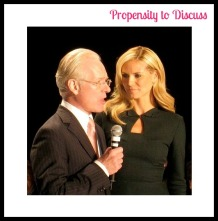 Tim Gunn and Heidi Klum. Life lessons from Project Runway. A Propensity to Discuss post.