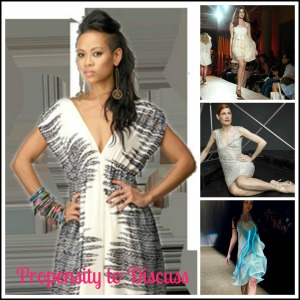 Project Runway Designers and Dresses. Anya Ayoung-Chee. Laura Bennett. Life lessons from Project Runway. A Propensity to Discuss post.