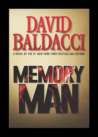 Black as death. Blue as night. Red as three. David Baldacci's Memory Man. A Propensity to Discuss review.