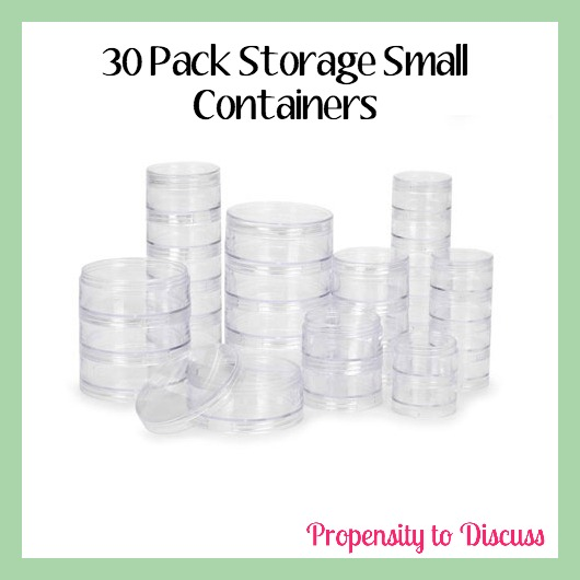 30 pack storage jars. How to Waste Time And Love Doing It. A Propensity to Discuss Post.