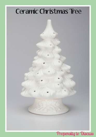 DIY Ceramic Christmas Tree. How to Waste Time And Love Doing It. A Propensity to Discuss Post.