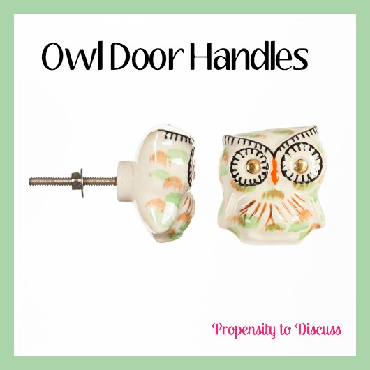 Owl door handles. How to Waste Time And Love Doing It. A Propensity to Discuss Post.