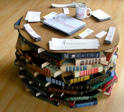 I've read that book...now what? A Propensity to Discuss Post. Book Table Crafting with old books.
