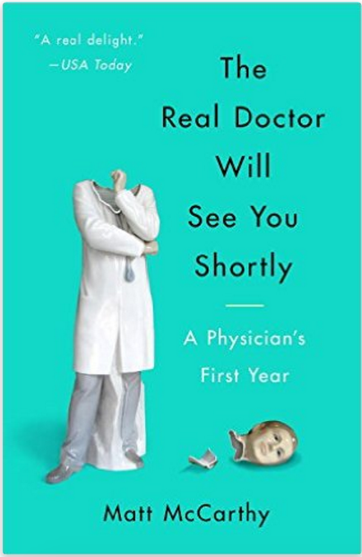 Four Reasons To Read This Book. A Propensity to Discuss Review. The real doctor will see you shortly.