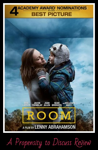 Room. A Propensity to Discuss movie review.
