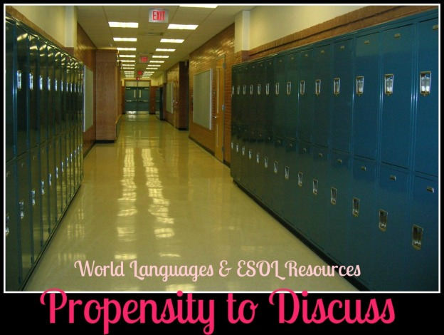Propensity to Discuss Education Links. World Languages and ESOL Resources