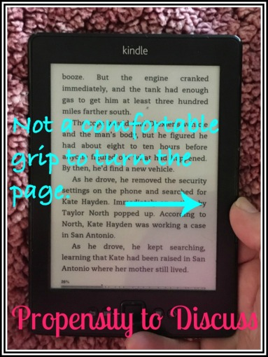 Kindle Paperwhite. A Propensity to Discuss review.