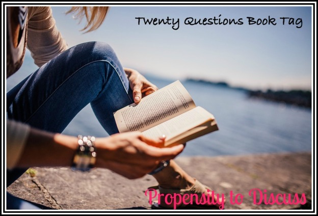 Twenty Questions Book Tag. A Propensity to Discuss Tag
