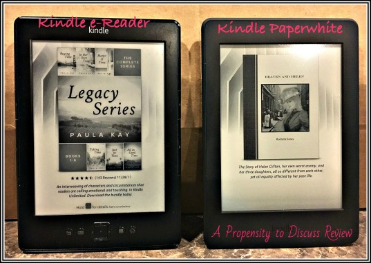 Kindle Paperwhite Review. A Propensity to Discuss review.