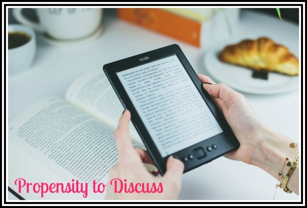 Book Blogs, Reviews, and Reading. A Propensity to Discuss post.